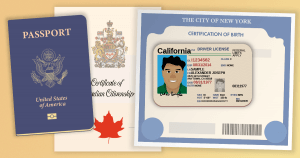Passport, Driver's License etc
