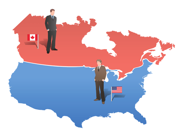 Canada and the US