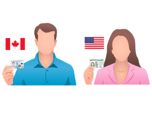 American or Canadian Citizenship